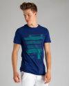 T-Shirt Perso TCE 910012H_NIEBIESKI niebieski