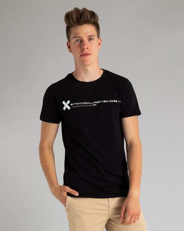 T-Shirt Perso TCE 910013H_CZARNY czarny