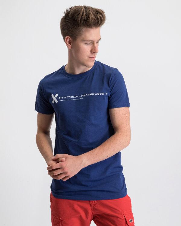 T-Shirt Perso TCE 910013H_NIEBIESKI niebieski