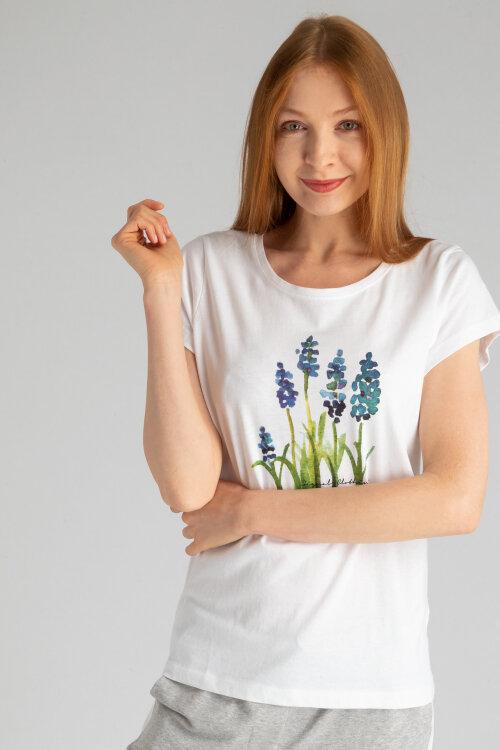 T-Shirt Signal 23424_4000 Biały Signal 23424_4000 biały