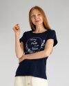T-Shirt Signal 23424_5271 granatowy