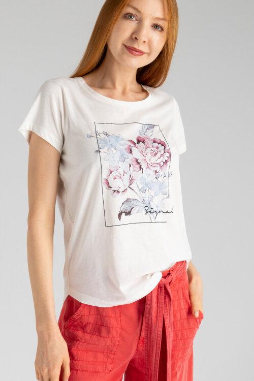 T-Shirt Signal 23130_4179 kremowy