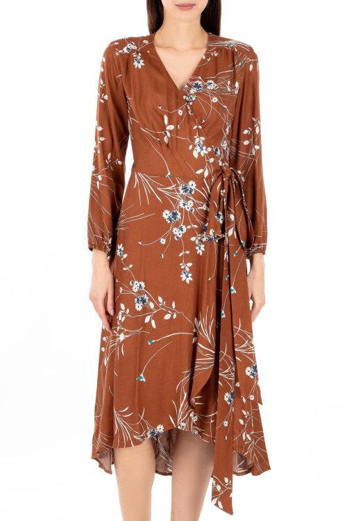 Sukienka Sobora 185037_7230 brązowy