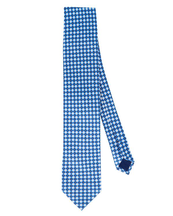 Krawat Stenströms 913080_001 niebieski