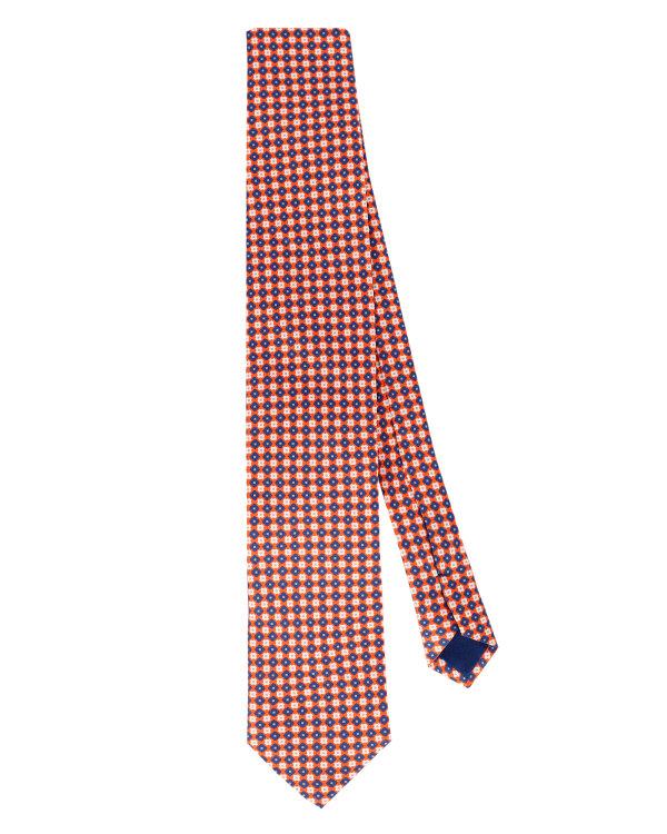 Krawat Stenströms 913080_005 pomarańczowy