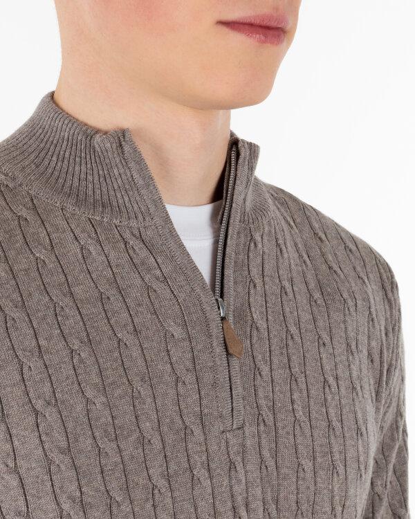 Sweter Stenströms 420003_1355_260 brązowy
