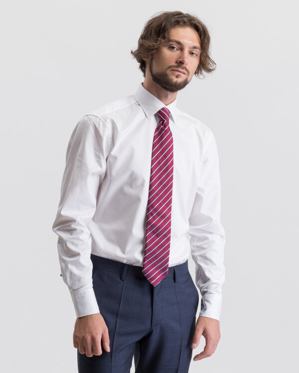 Krawat Stenströms 913087_014 Bordowy Stenströms 913087_014 bordowy