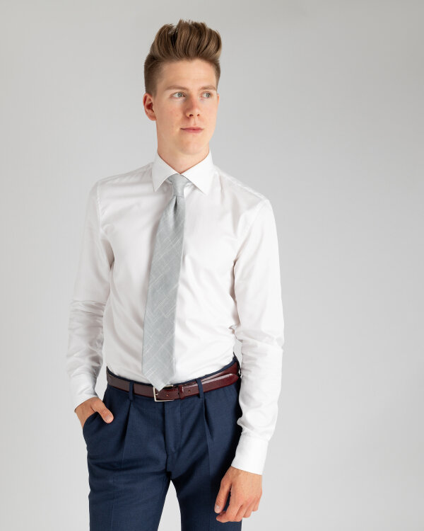 Krawat Stenströms 913109_001 szary