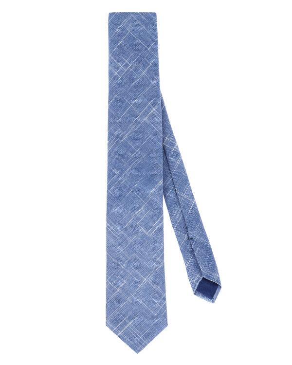 Krawat Stenströms 913109_007 niebieski