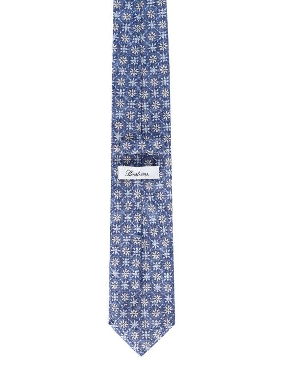 Krawat Stenströms 913120_001 niebieski