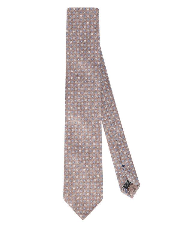 Krawat Stenströms 913123_003 brązowy