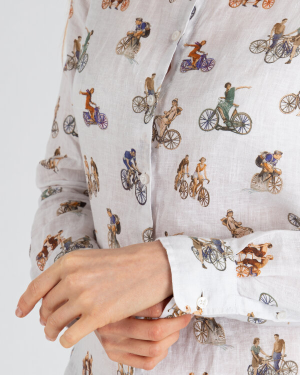 Koszula Stenströms 261004_6651_061 kremowy
