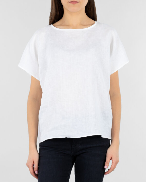 Bluzka Stenströms 141047_6152_000 biały