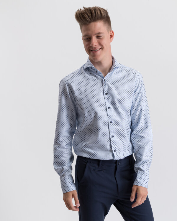 Koszula Stenströms 675221_7538_101 niebieski