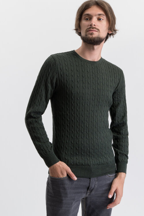 Sweter Stenstroms 422285_1355_475 zielony