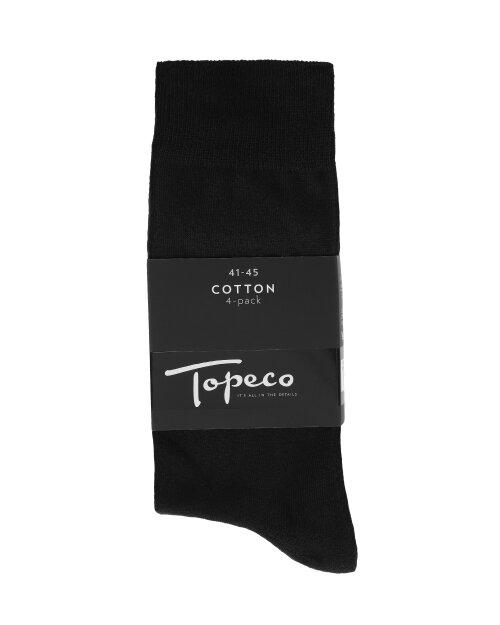 Skarpety Topeco 4P 2590_115 czarny