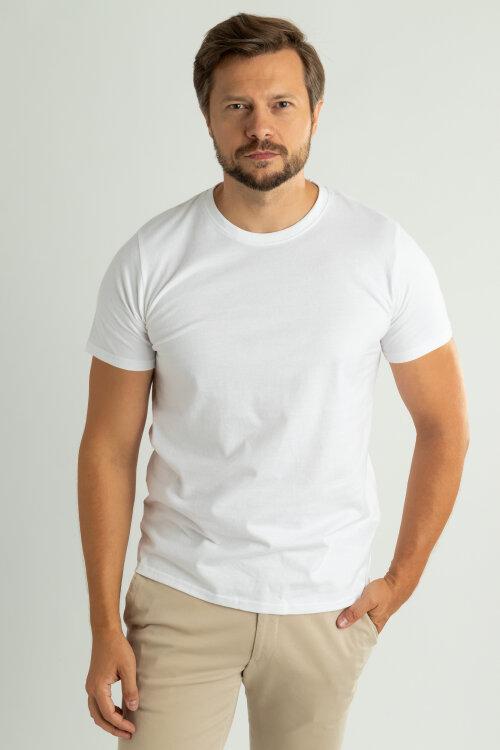 T-Shirt Topeco 76210013_ biały