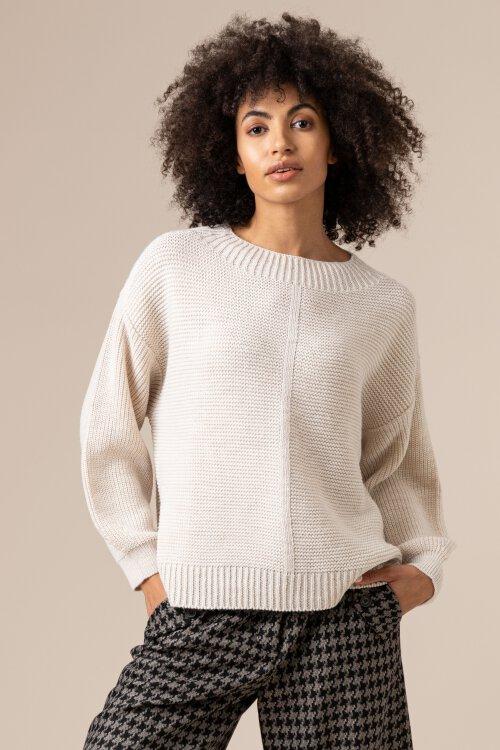 Sweter Fraternity JZ20_COZY_ECRU kremowy
