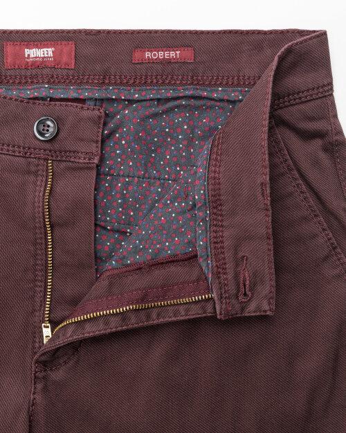 Spodnie Pioneer Authentic Jeans 03941_01485_801 bordowy
