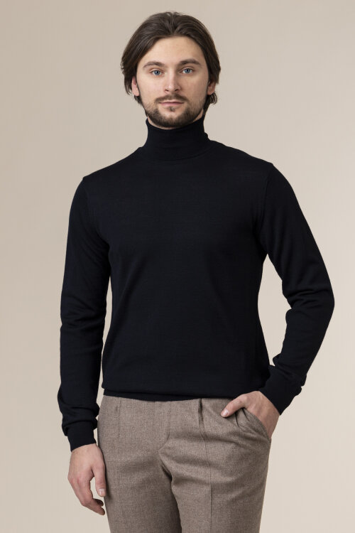 Sweter Daniel Hechter 65052-102842_680 granatowy