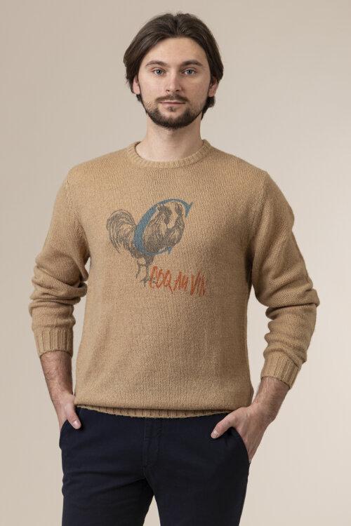 Sweter Club Of Gents 02.830N1 / 273550_22 brązowy