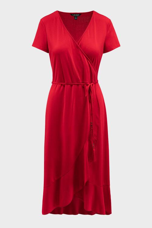 Sukienka Lauren Ralph Lauren 200793333001_RED czerwony
