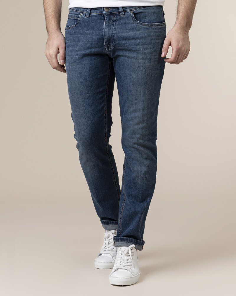 Spodnie Atelier Gardeur BATU-2 71001_67 niebieski - fot:2