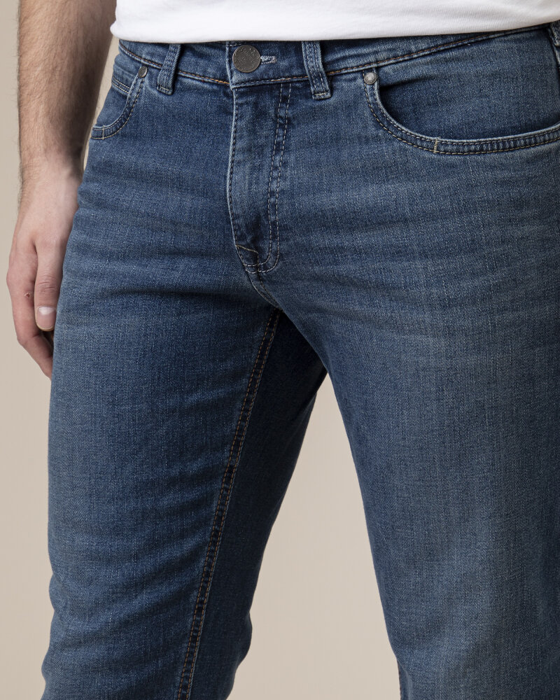 Spodnie Atelier Gardeur BATU-2 71001_67 niebieski - fot:3