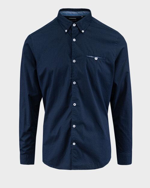 Koszula Pioneer Authentic Jeans 04312_07469_597 granatowy