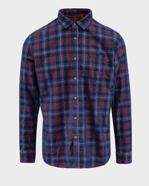 Koszula Pioneer Authentic Jeans 04314_07473_890 granatowy