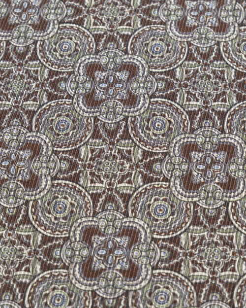 Poszetka Stenstroms 923196_002 brązowy