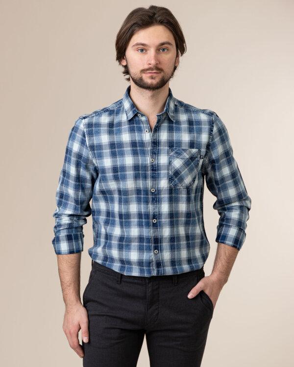 Koszula Pioneer Authentic Jeans 04317_07479_529 niebieski