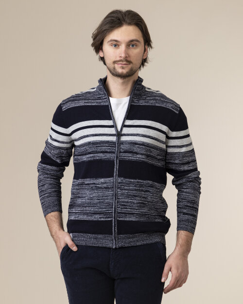 Sweter Pioneer Authentic Jeans 07075_04816_597 granatowy