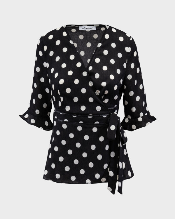Bluzka Co'Couture 75697_DOT_96 BLACK czarny