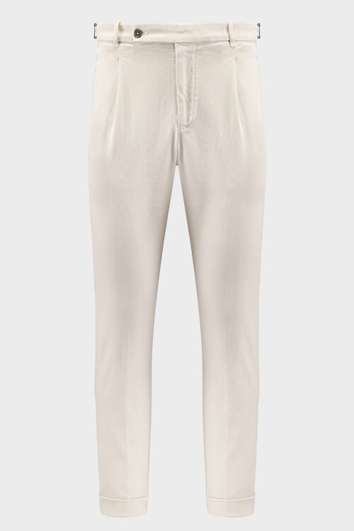 Spodnie Berwich SN0785X_GESSO kremowy