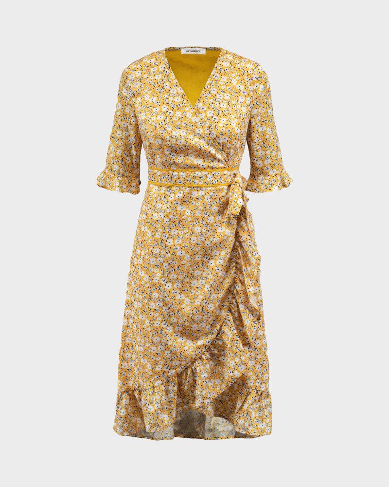 Sukienka Co'Couture 76221_POPPY_52 YELLOW żółty - fot:1
