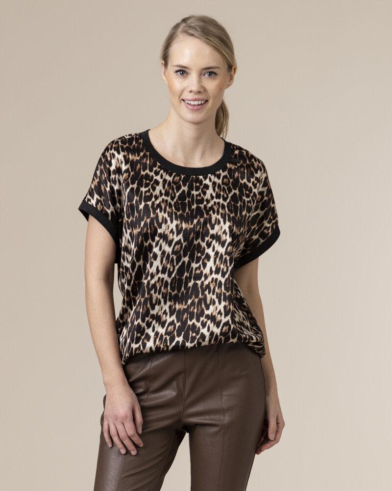 Bluzka Co'Couture 75770_NORMA_128 COGNAC czarny - fot:2