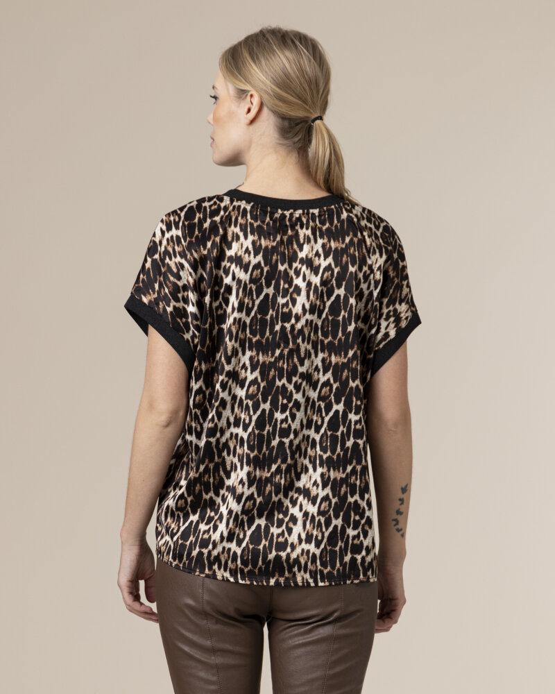Bluzka Co'Couture 75770_NORMA_128 COGNAC czarny - fot:4