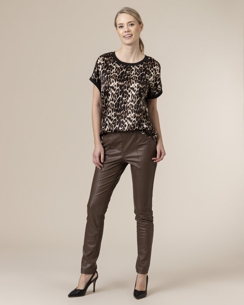 Bluzka Co'Couture 75770_NORMA_128 COGNAC czarny - fot:5