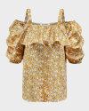 Bluzka Co'Couture 75852_POPPY_52 YELLOW żółty