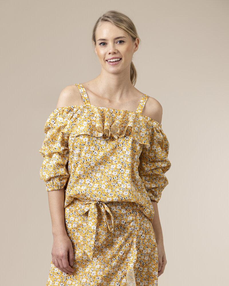 Bluzka Co'Couture 75852_POPPY_52 YELLOW żółty - fot:2