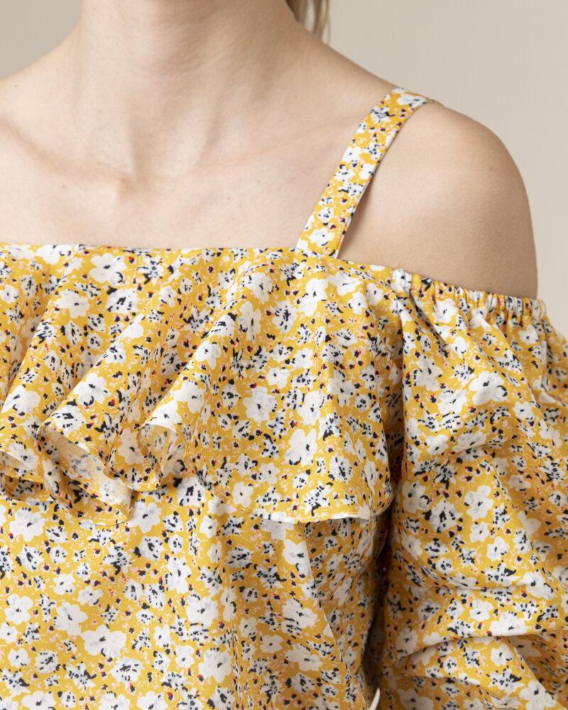 Bluzka Co'Couture 75852_POPPY_52 YELLOW żółty - fot:3