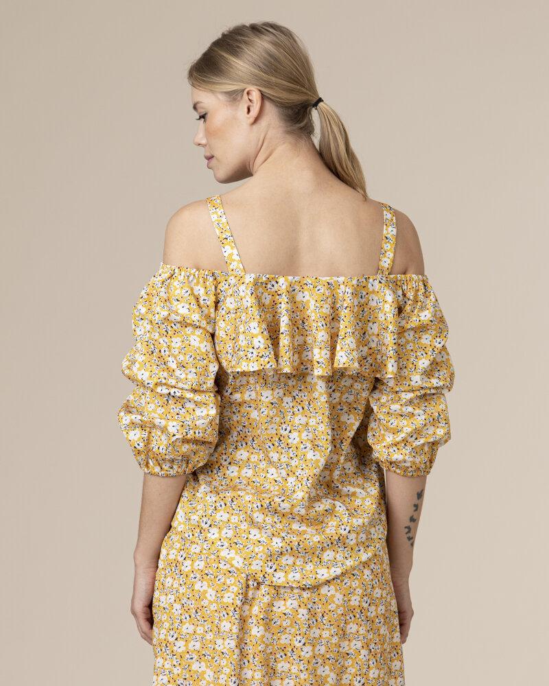 Bluzka Co'Couture 75852_POPPY_52 YELLOW żółty - fot:4