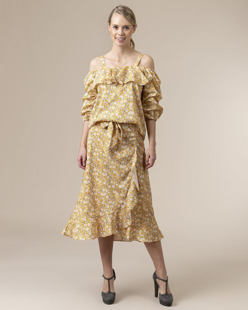 Bluzka Co'Couture 75852_POPPY_52 YELLOW żółty - fot:5
