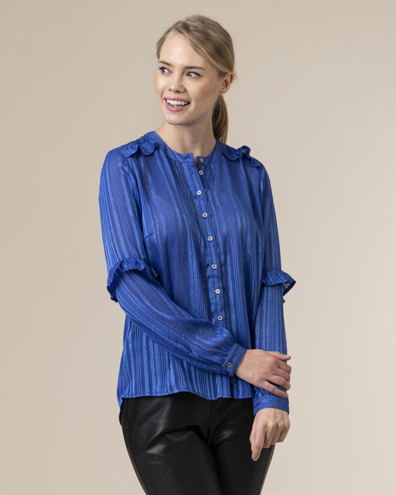 Bluzka Co'Couture 75772_VENETTA_76 NEW BLUE niebieski - fot:2