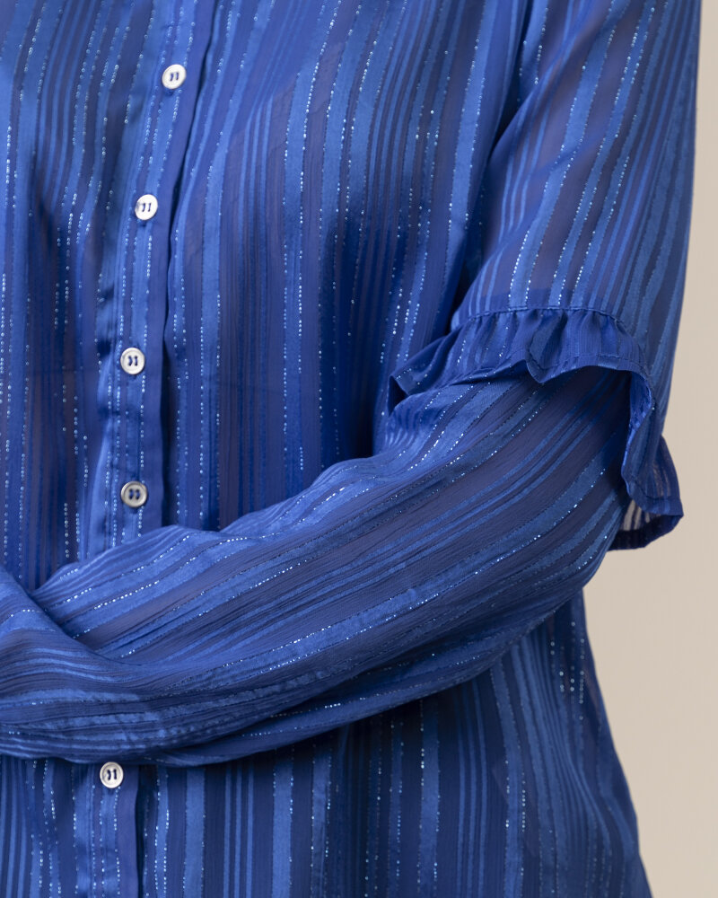 Bluzka Co'Couture 75772_VENETTA_76 NEW BLUE niebieski - fot:3