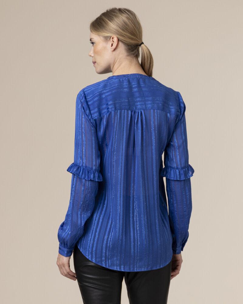 Bluzka Co'Couture 75772_VENETTA_76 NEW BLUE niebieski - fot:4