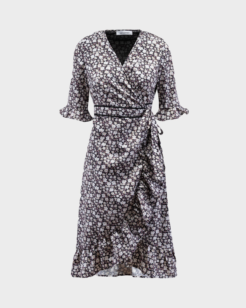 Sukienka Co'Couture 76221_POPPY_120 NAVY granatowy - fot:1