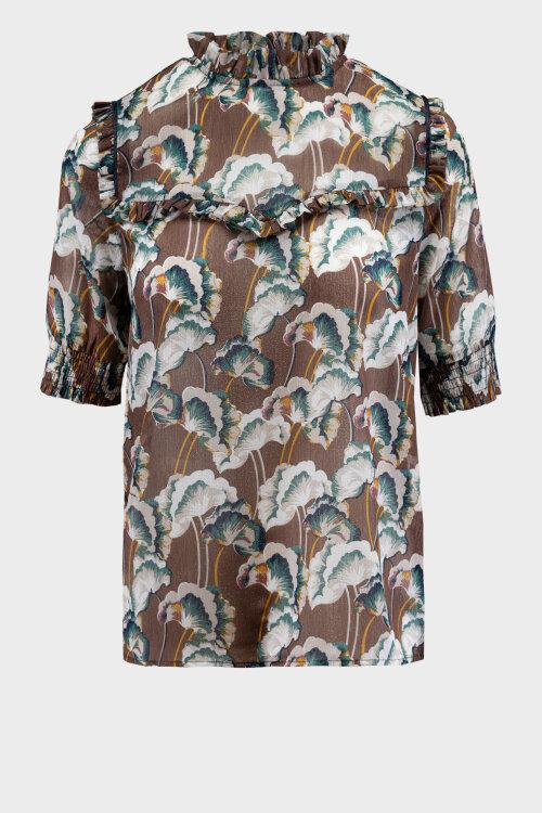 Bluzka Co'Couture 75757_ALYA_128 brązowy