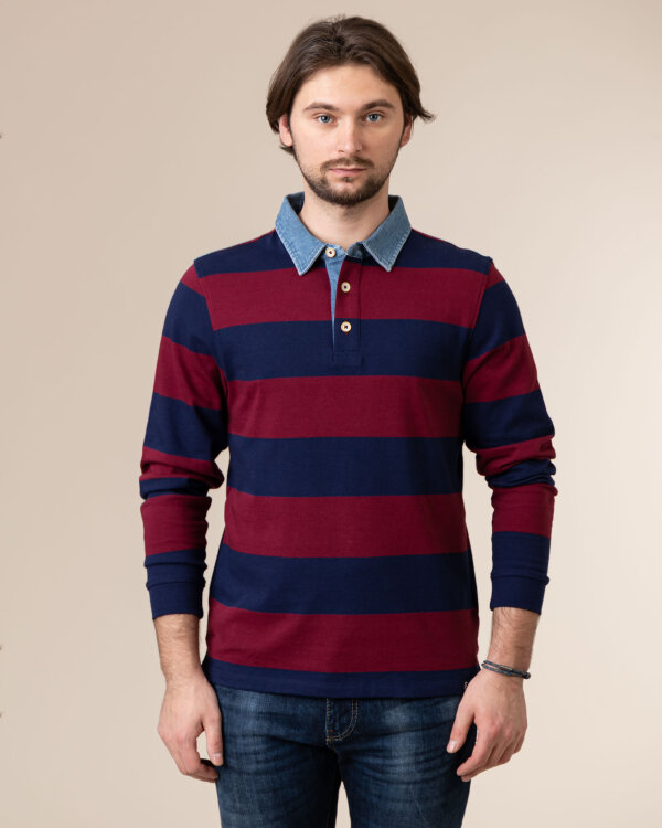 Bluza Colours & Sons 9220-490_299 MERLOT bordowy